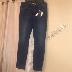 NWT Guess Tailored High Rise Skinny Jeans 32R